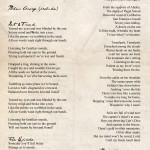 liner notes - lyrics