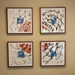 artwork installed